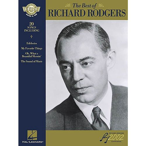 HAL LEONARD THE BEST OF RICHARD RODGERS - GUITAR TAB