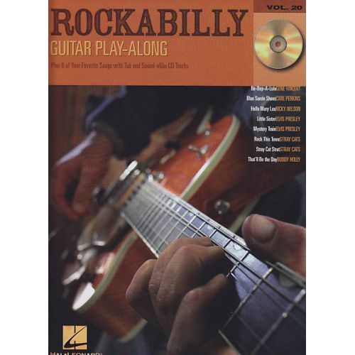 hal leonard rockabilly guitar play along vol 20. Black Bedroom Furniture Sets. Home Design Ideas