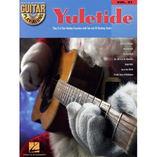 HAL LEONARD GUITAR PLAY-ALONG VOLUME 21 - YULETIDE + CD - GUITAR TAB