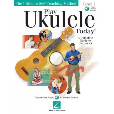 HAL LEONARD PLAY UKULELE TODAY! LEVEL 1 + MP3 - UKULELE