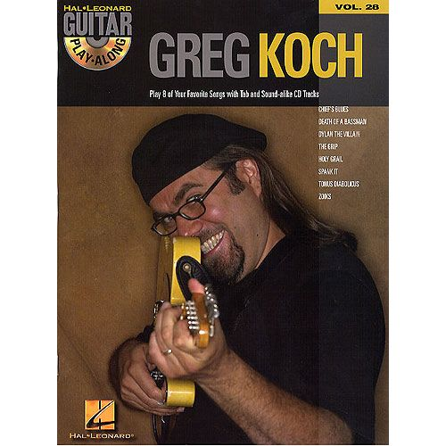 HAL LEONARD KOCH GREG - GUITAR PLAY ALONG VOL.28 + CD - GUITAR TAB