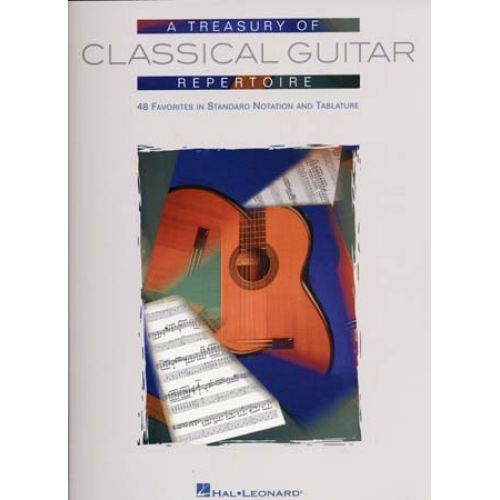 HAL LEONARD TREASURY OF CLASSICAL GUITAR REPERTOIRE - GUITAR TAB