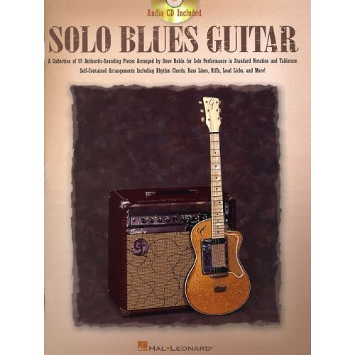 HAL LEONARD RUBIN DAVID - SOLO BLUES GUITAR - GUITAR TAB