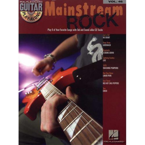 HAL LEONARD MAINSTREAM ROCK - GUITAR PLAY-ALONG - 46 - GUITAR TAB