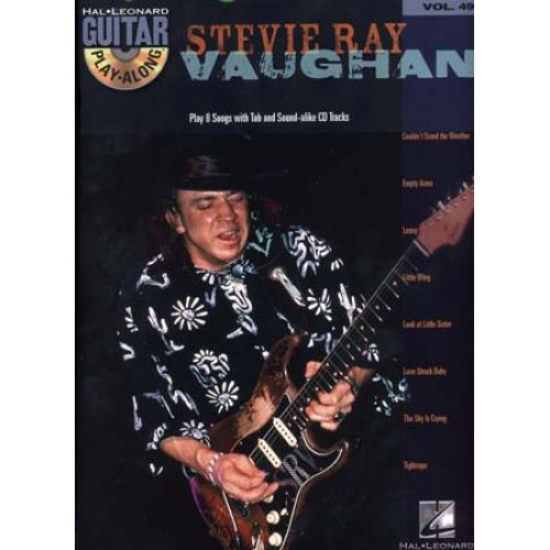 HAL LEONARD STEVIE RAY VAUGHAN - GUITAR PLAY ALONG VOL.49 + CD