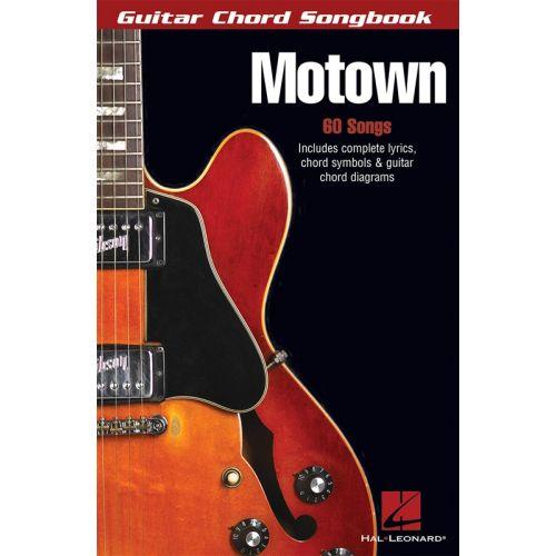 HAL LEONARD MOTOWN GUITAR CHORD SONGBOOK - GUITAR