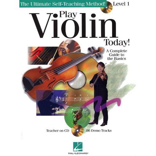HAL LEONARD PLAY VIOLIN TODAY! LEVEL 1 + CD - VIOLIN