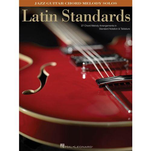 HAL LEONARD LATIN STANDARDS JAZZ - GUITAR TAB