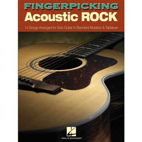 HAL LEONARD FINGERPICKING ACOUSTIC ROCK - GUITAR TAB