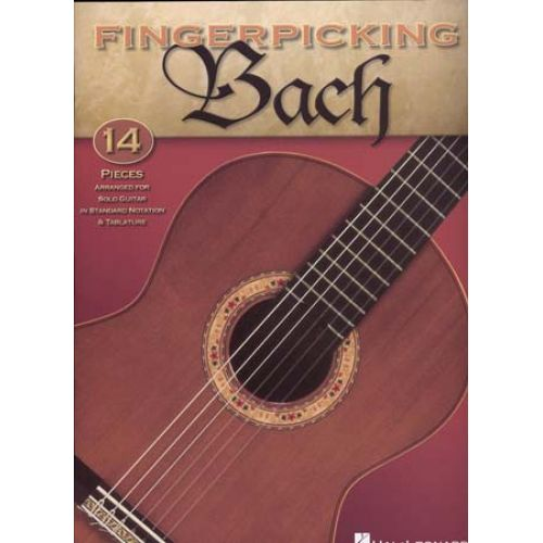 HAL LEONARD BACH - FINGERPICKING GUITAR