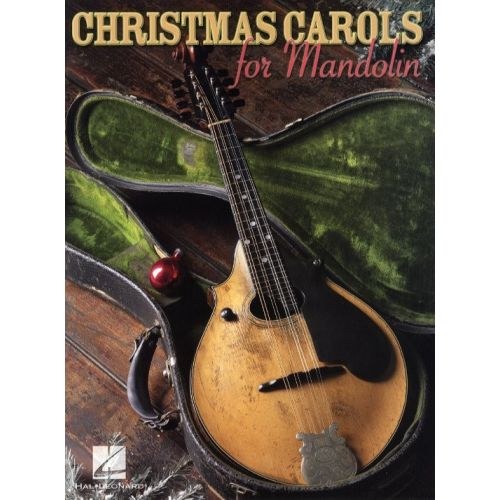 HAL LEONARD CHRISTMAS CAROLS FOR MANDOLIN - MANDOLIN
