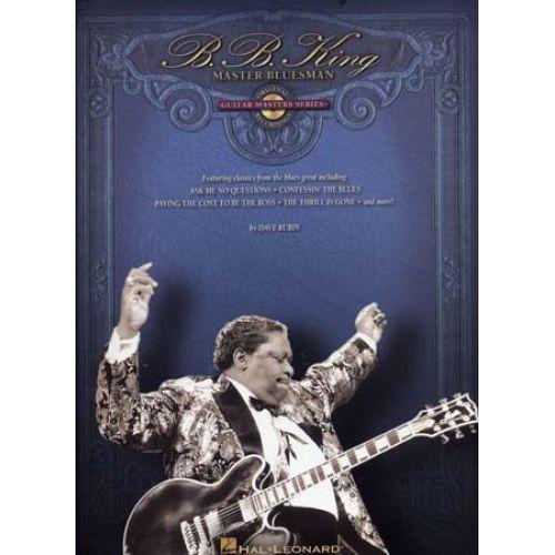 UNIVERSAL MUSIC PUBLISHING B.B.KING - GUITAR MASTERS SERIES - MASTER BLUESMAN + CD