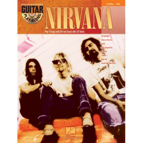HAL LEONARD GUITAR PLAY-ALONG VOLUME 78 NIRVANA GUITAR TAB + CD - GUITAR
