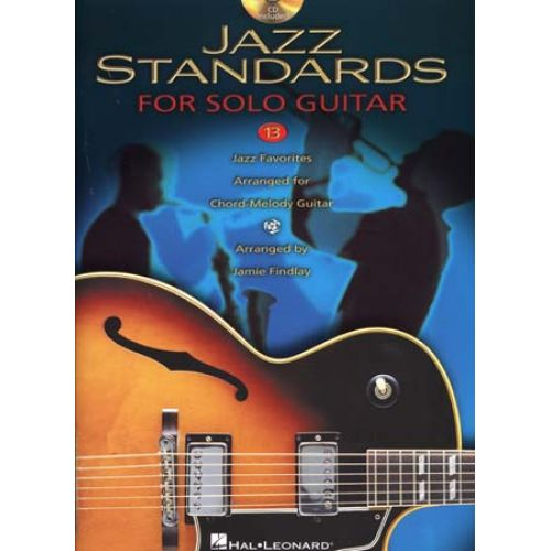 HAL LEONARD JAZZ STANDARDS FOR SOLO GUITAR + CD