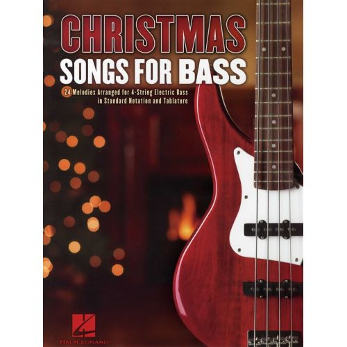 HAL LEONARD CHRISTMAS SONGS FOR BASS - BASS GUITAR TAB