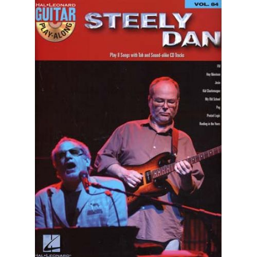 HAL LEONARD GUITAR PLAY ALONG VOL.84 STEELY DAN + CD