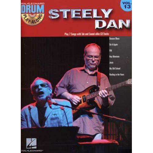 HAL LEONARD STEELY DAN - DRUM PLAY ALONG VOL.13 + CD - BATTERIE