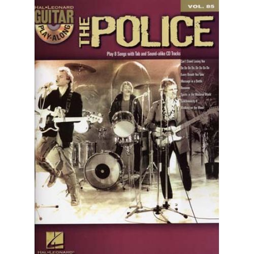 HAL LEONARD POLICE - GUITAR PLAY ALONG VOL.085 + CD - GUITAR TAB