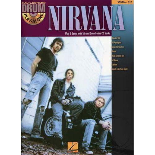 HAL LEONARD NIRVANA - DRUM PLAY ALONG VOL.17 + CD