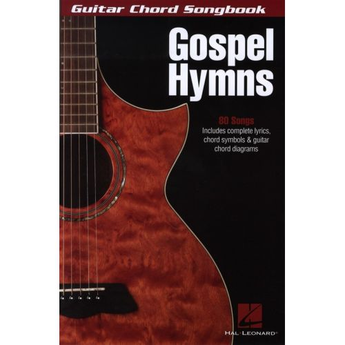 HAL LEONARD GUITAR CHORD SONGBOOK GOSPEL HYMNS - LYRICS AND CHORDS ...