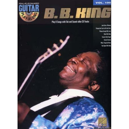 HAL LEONARD GUITAR PLAY ALONG VOL.100 B.B. KING + CD