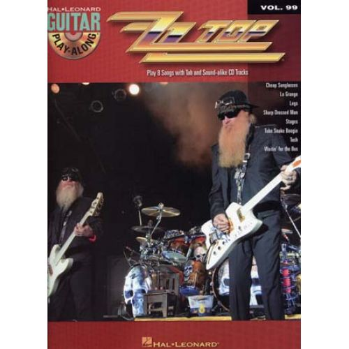 HAL LEONARD ZZ TOP - GUITAR PLAY ALONG VOL.99 + CD