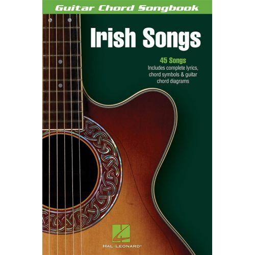 HAL LEONARD GUITAR CHORD SONGBOOK IRISH SONGS - GUITAR