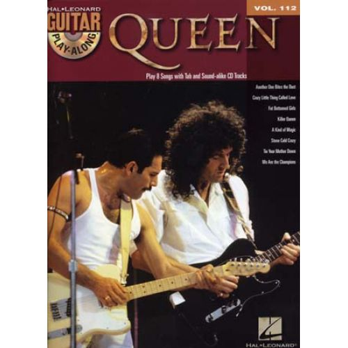 HAL LEONARD GUITAR PLAY ALONG VOL.112 QUEEN TAB + CD