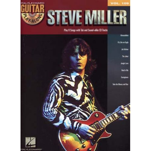 HAL LEONARD MILLER S. - GUITAR PLAY ALONG VOL.109 + CD - GUITAR TAB