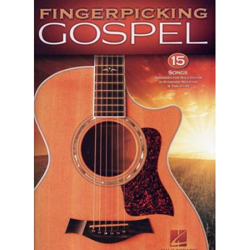 HAL LEONARD FINGERPICKING GOSPEL - GUITAR TAB
