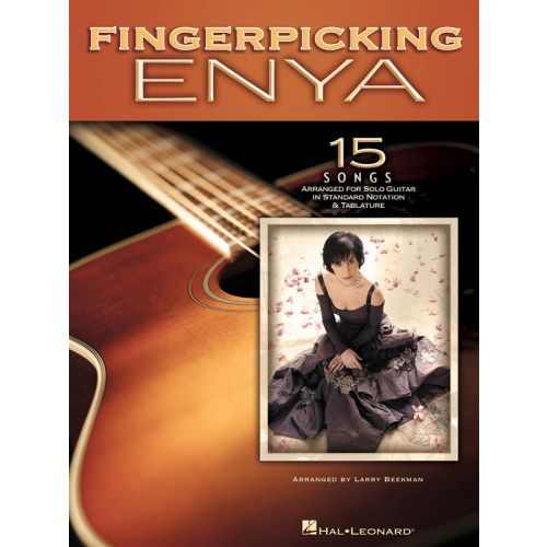 HAL LEONARD FINGERPICKING ENYA 15 SONGS ARR FOR SOLO GUITAR NOTATION AND - GUITAR
