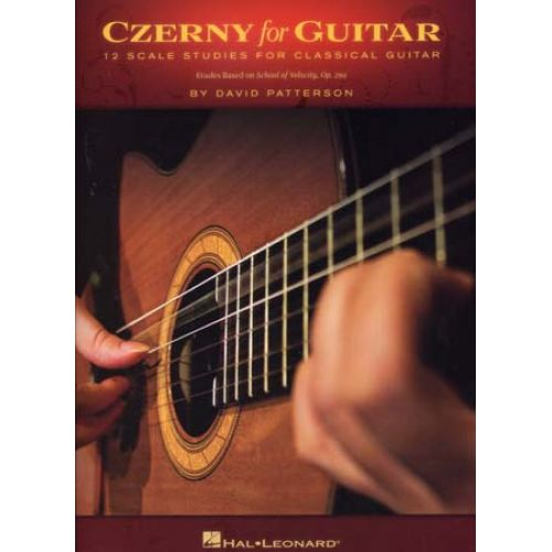 HAL LEONARD CZERNY FOR GUITAR - GUITAR TAB