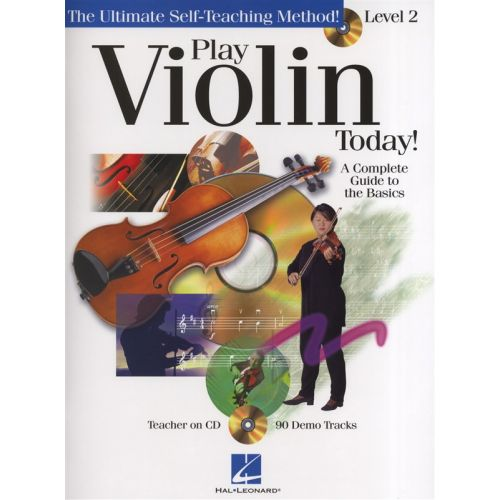 HAL LEONARD PLAY VIOLIN TODAY! LEVEL 2 THE BASICS + CD - VIOLIN