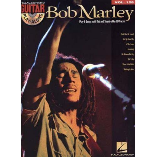 HAL LEONARD GUITAR PLAY ALONG MARLEY BOB VOL.126 + CD