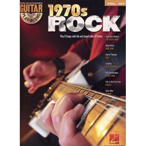 HAL LEONARD GUITAR PLAY ALONG VOL.127 1970'S ROCK + CD