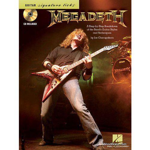 HAL LEONARD GUITAR PLAY ALONG VOL.129 MEGADETH + CD - GUITAR TAB