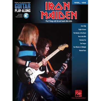 HAL LEONARD HAL LEONARD GUITAR PLAY-ALONG VOL.130 - IRON MAIDEN