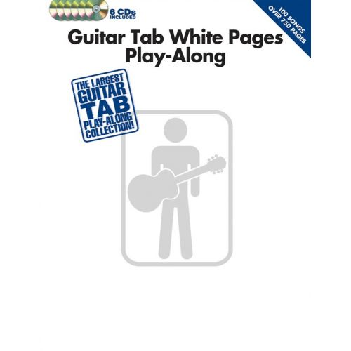 HAL LEONARD GUITAR TAB WHITE PAGES PLAY-ALONG - GUITAR TAB