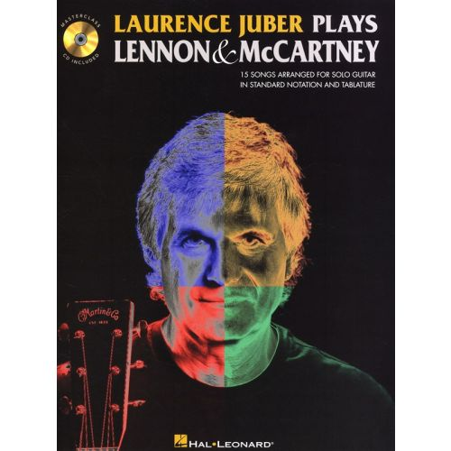 HAL LEONARD JUBER LAURENCE PLAYS LENNON AND MCCARTNEY GUITAR SOLO - GUITAR TAB