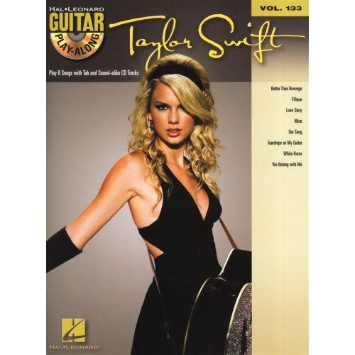 HAL LEONARD GUITAR PLAY ALONG VOLUME 133 - SWIFT TAYLOR + CD - GUITAR
