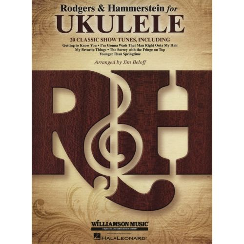 HAL LEONARD RODGERS AND HAMMERSTEIN FOR UKULELE - UKULELE