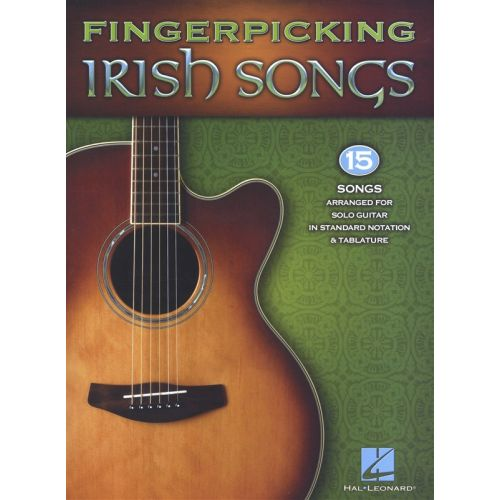 HAL LEONARD FINGERPICKING IRISH SONGS GUITAR SOLO - GUITAR