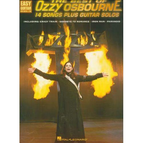 HAL LEONARD OSBOURNE OZZY - BEST OF - EASY GUITAR TAB