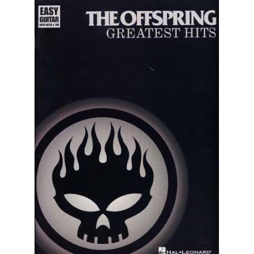 HAL LEONARD OFFSPRING - GREATEST HITS - EASY GUITAR TAB