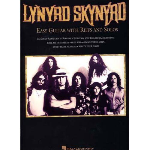 HAL LEONARD LYNYRD SKYNYRD - EASY GUITAR WITH RIFFS & SOLOS - GUITAR TAB