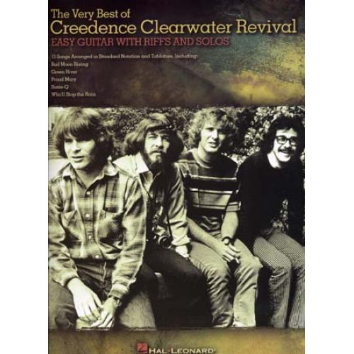 HAL LEONARD CREEDENCE CLEARWATER REVIVAL - VERY BEST OF - EASY GUITAR