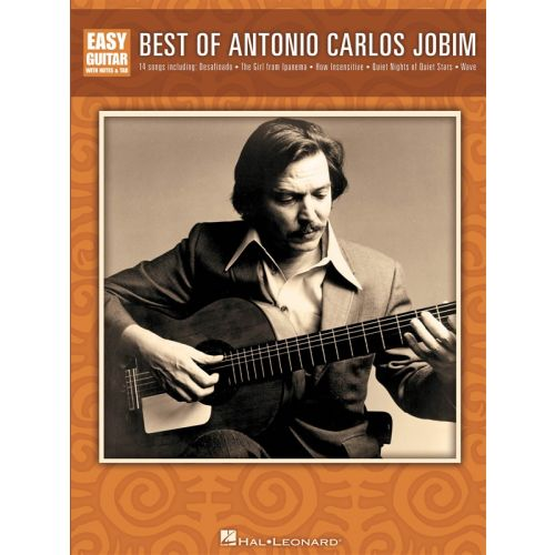 HAL LEONARD BEST OF ANTONIO CARLOS JOBIM - GUITAR TAB