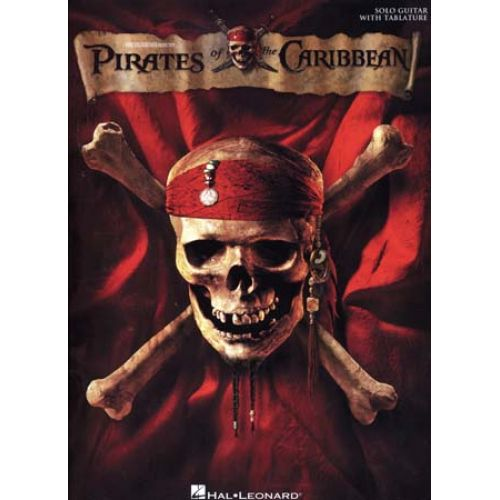 HAL LEONARD ZIMMER HANS - PIRATES OF THE CARIBBEAN - GUITAR TAB