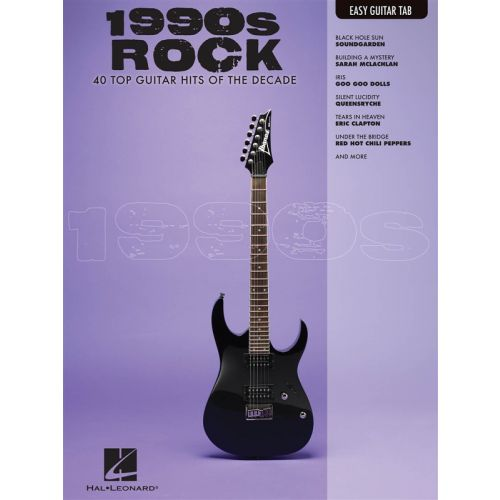 HAL LEONARD 1990S ROCK EASY GUITAR WITH NOTES AND TAB - GUITAR TAB