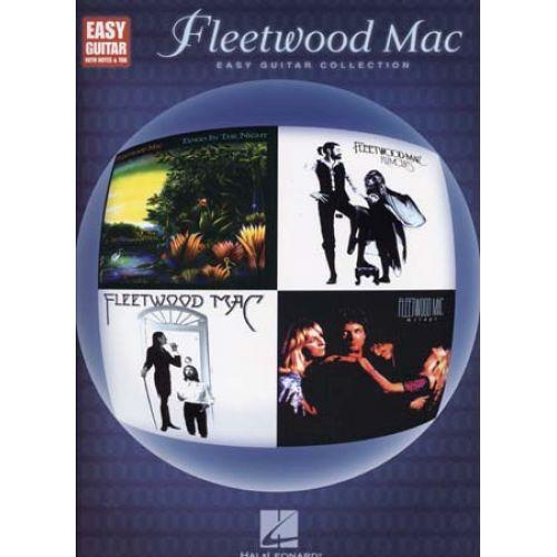 HAL LEONARD FLEETWOOD MAC - EASY GUITAR COLLECTION - GUITARE TAB